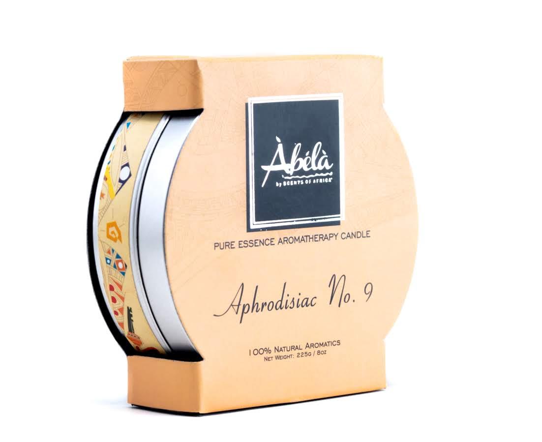 Aphrodisiac No. 9 Aromatherapy Travel Candle